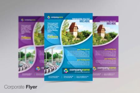 business flyer lake printing